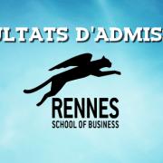Résultats d'admissions ESC Rennes 2016