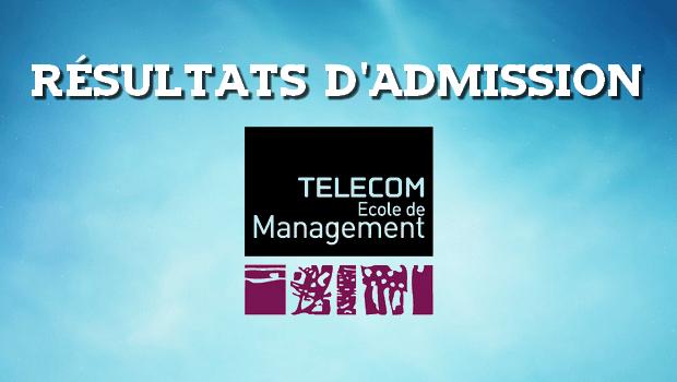 Résultats d'admissions Télécom EM 2017