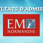 Résultats d'admissions EM Normandie 2018