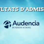 Résultats d'admissions Audencia 2017