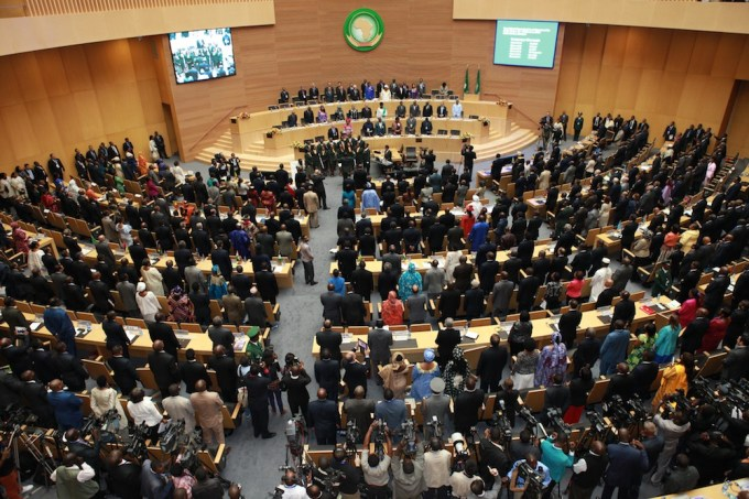 Qu'a adopté l'Union Africaine le samedi 15 octobre ?