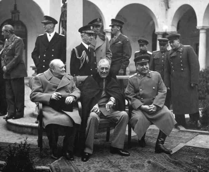 Churchill a fait de la peinture.