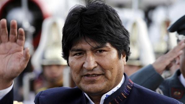 Evo Morales s'est réfugié...