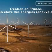 Article exemple : L'éolien en France, le bon élève des énergies renouvelables – Les Yeux du Monde