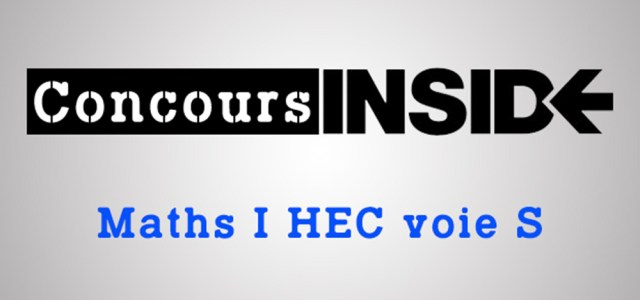Maths HEC 2017 ECS – Sujet