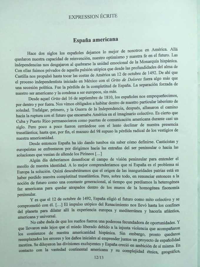 espagnol LV1 3