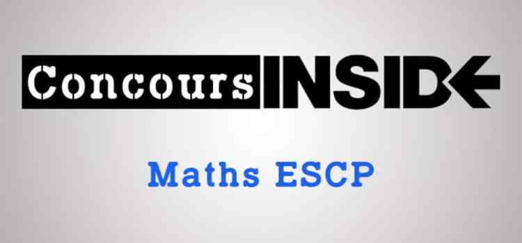 Maths ESCP 2017 – Analyse du sujet