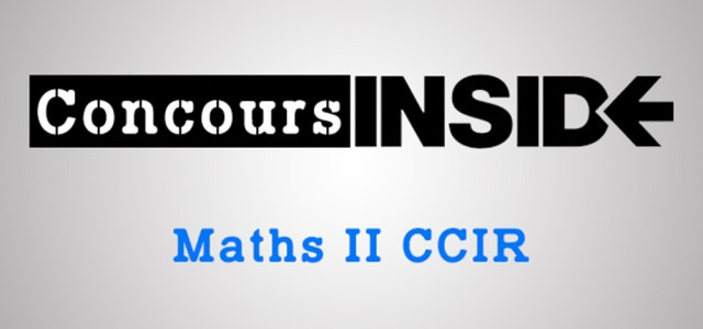 Maths 2 ESSEC 2017 – Analyse du sujet