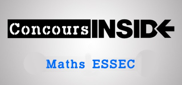 Sujet Maths ESSEC ECS 2009