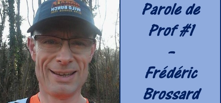 Interview de Frédéric Brossard, devenu professeur de maths en prépa à 50 ans !