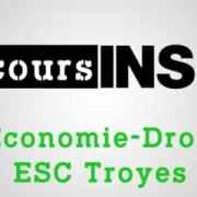 Eco-droit SCBS (ESC Troyes) 2019 – Analyse du sujet