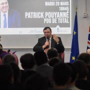 Conférence de Patrick Pouyanné, PDG de Total, par Tribunes ESCP Europe