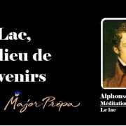 Lamartine, Un lieu de souvenirs – Le Lac
