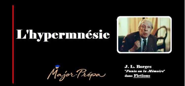 Borges, L'hypermnésie