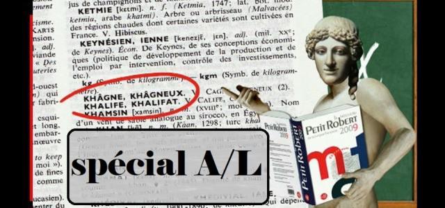 CPGE Littéraire – Récapitulatif des articles A/L