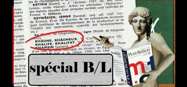 CPGE Littéraire – Récapitulatif des articles B/L