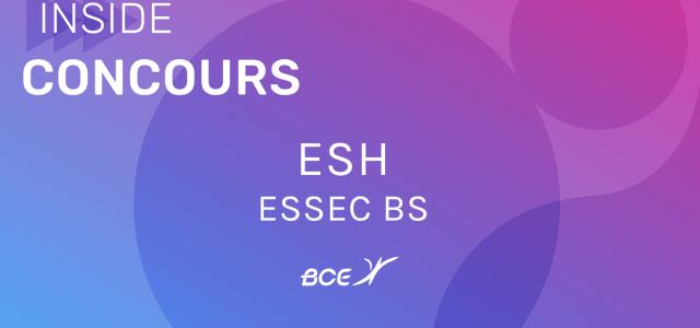 ESH ESSEC 2019 – Sujet