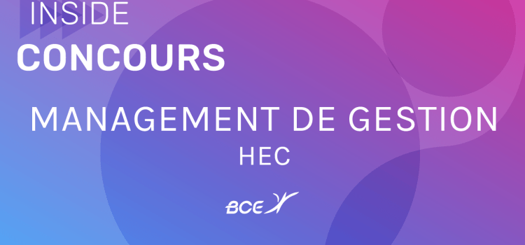 Management-Gestion HEC 2019 – Sujet