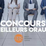 Concours des meilleurs oraux 2019 – Brest BS