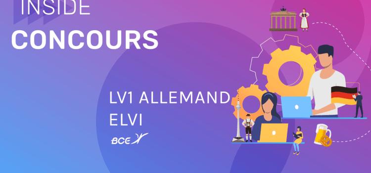 LV1 Allemand ELVi 2019 – Analyse du sujet