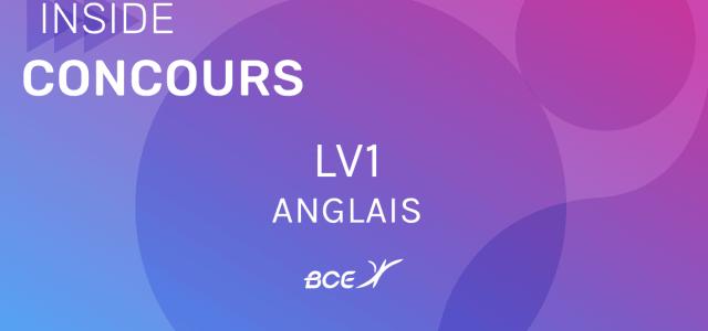 LV1 Anglais IENA 2019 – Sujet