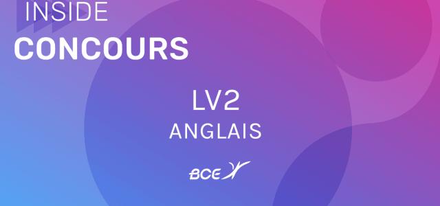 Anglais LV2 IENA 2021 – Sujet