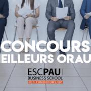 Concours des meilleurs oraux 2019 – ESC Pau BS