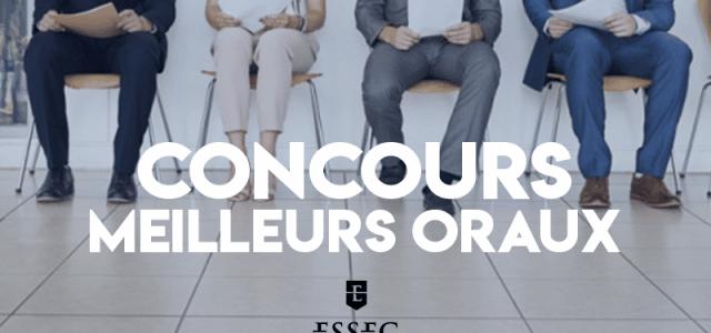 Concours des meilleurs oraux 2019 – ESSEC BS