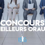 Concours des meilleurs oraux 2019 – ISG International Business School