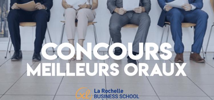 Concours des meilleurs oraux 2019 – La Rochelle BS