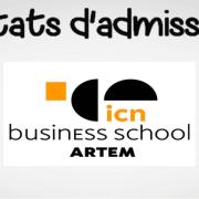 Résultats d'admissibilités ICN 2019