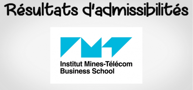 Résultats d'admissibilités IMT BS 2019