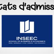 Résultats d'admissibilités INSEEC 2019