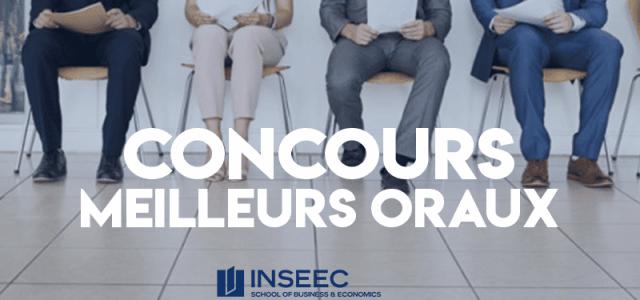 Concours des meilleurs oraux 2019 – INSEEC SBE