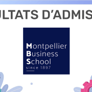 Résultats d'admission Montpellier BS 2019