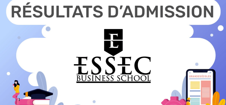 Résultats d'admission ESSEC 2020