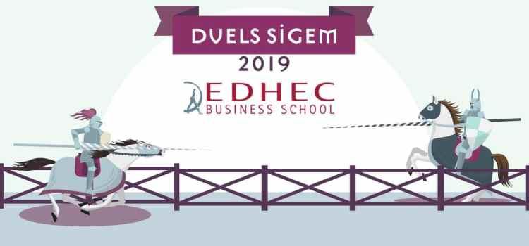 L'EDHEC se taille une part de Lyon – Duels SIGEM 2019