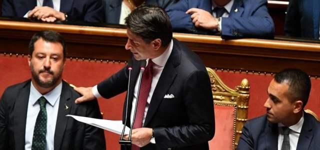 Italie : le premier ministre Giuseppe Conte démissionne