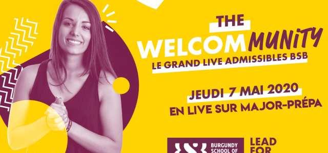 Journée spécial lives BSB – Burgundy School of Business jeudi 7 mai !