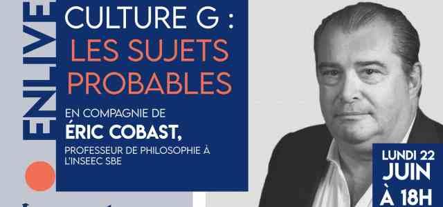 Les sujets probables sur le désir – Live avec Eric Cobast