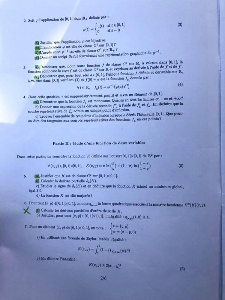 Sujet de maths ECS ESSEC HEC 2