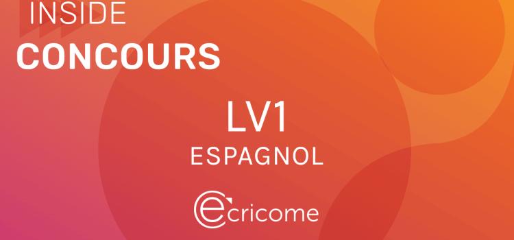 LV1 Espagnol Ecricome 2020 – Sujet