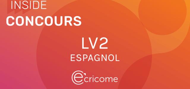 LV2 Espagnol Ecricome 2021 – Sujet