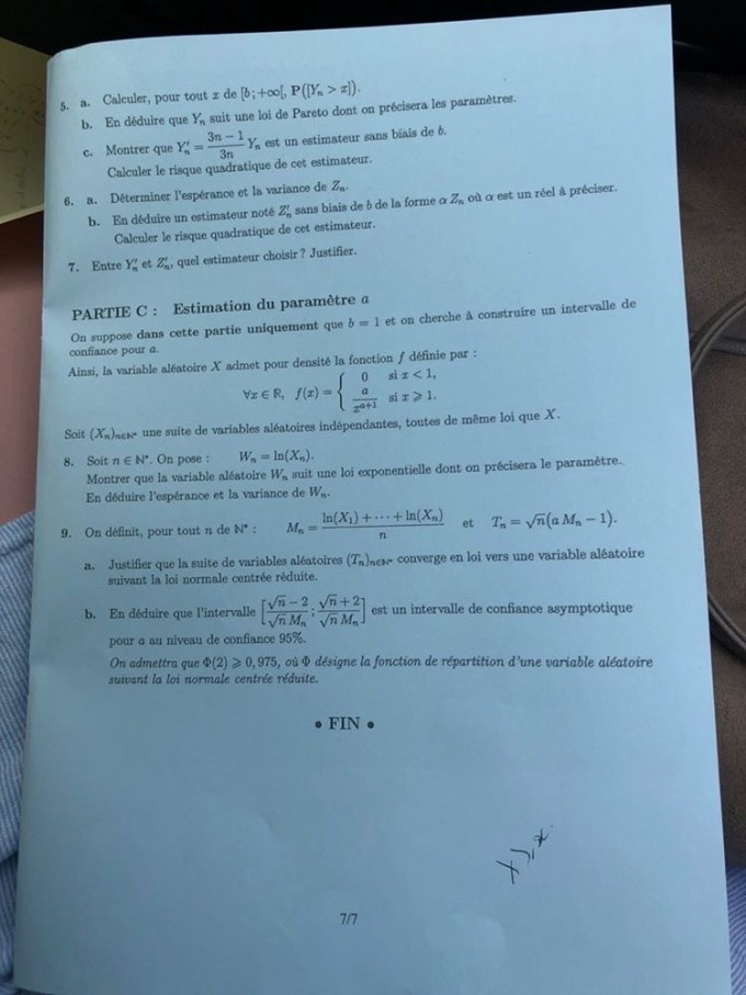 Maths ECE EMLYON 6