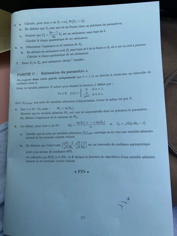 Maths ECE EMLYON 6