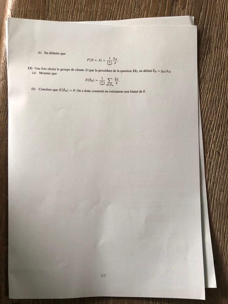 Maths ESSEC ECE 2020 7