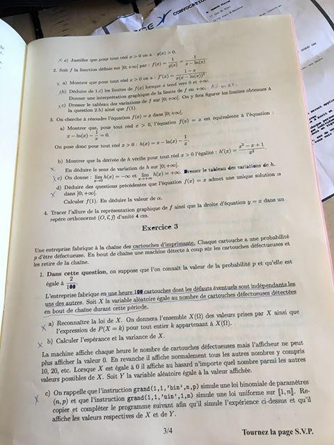 sujet maths BSB ECT 2020 3