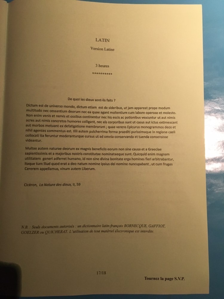 sujet lv2 IENA 2020 17
