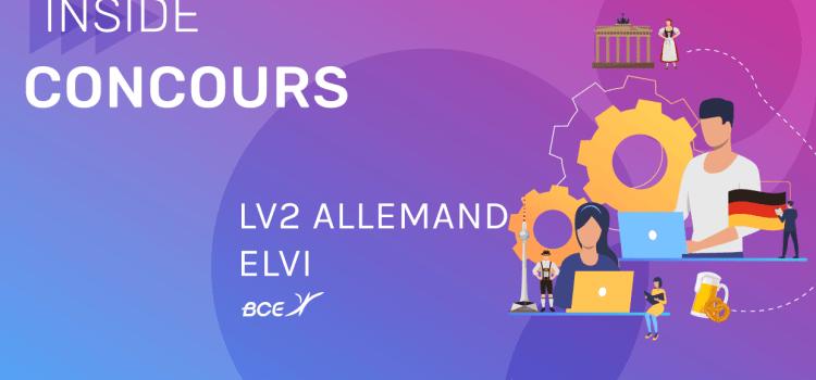 LV2 Allemand ELVi 2020 – Analyse du sujet