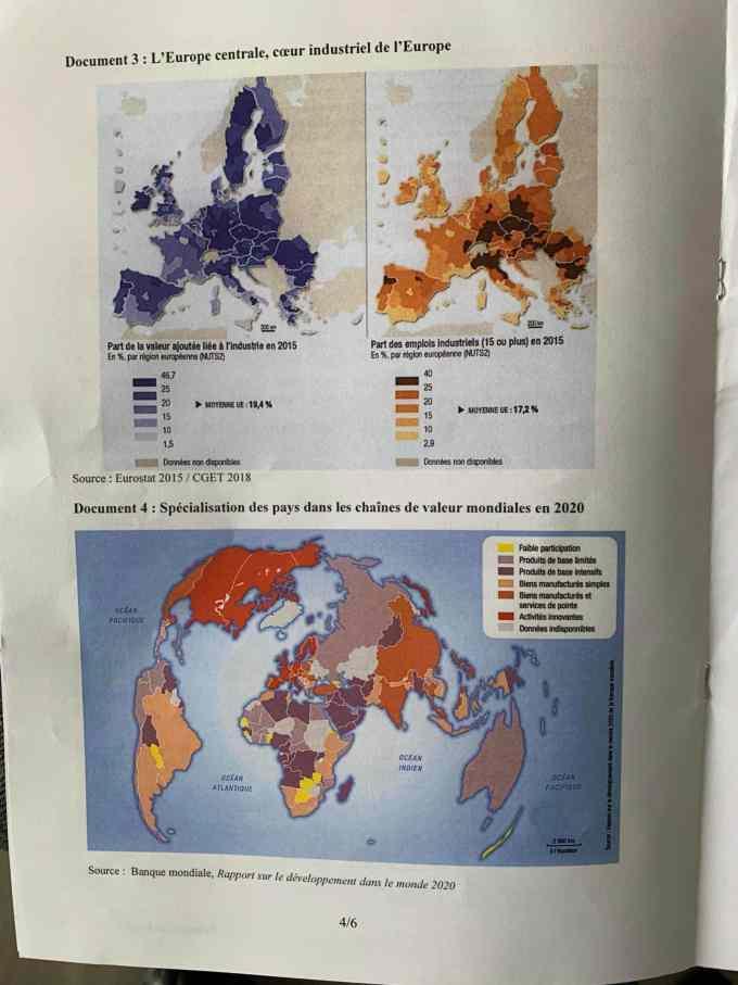 sujet Géopolitique ESCP 2021